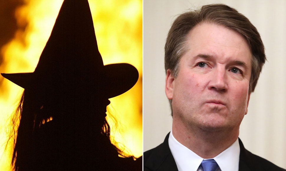Witches to 'hex' Supreme Court Justice Brett Kavanaugh; exorcists pray in response