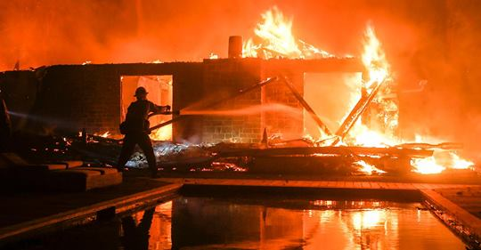 Insurance Claims for California fires Tops $9 Billion