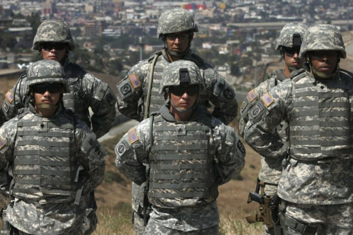 Homeland Security asks Pentagon to keep troops at the border through January