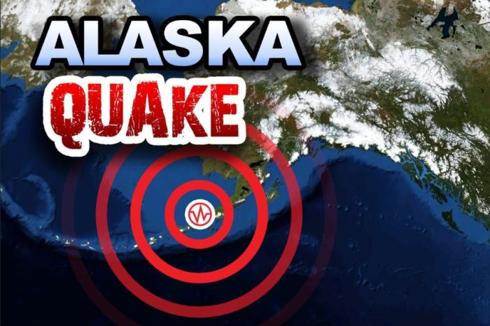 Alaska recovers from shock of earthquakes that rattled buildings and tore up roads