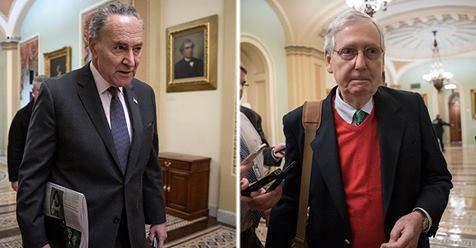 Schumer demands Trump 'abandon the wall' as DC faces shutdown