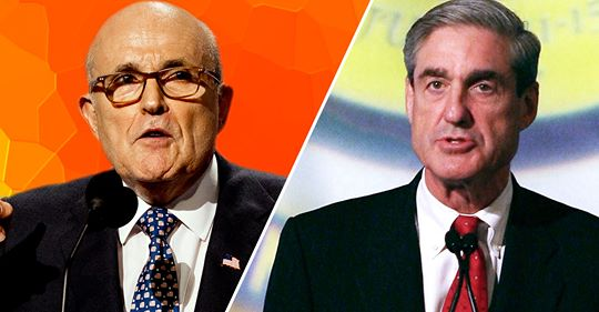 Giuliani: 'Over My Dead Body' Will Trump Sit for an Interview with Mueller