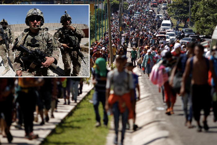 Pentagon sending 2,000 additional US troops to Southern Border