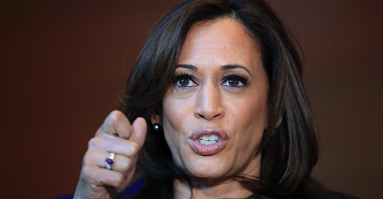 Kamala Harris's Charmed Political Life about to Face its Biggest Test