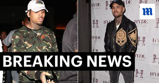 Chris Brown Arrested in France on Rape Charges