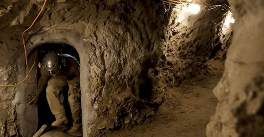 Amid border wall debate, third drug tunnel found in less than a month along Arizona border