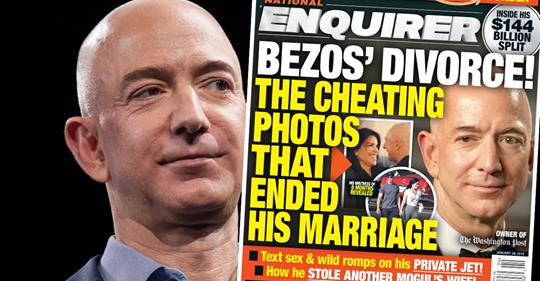 Amazon Boss Jeff Bezos Getting Divorce Over Fling With Movie Mogul's Wife