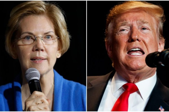 Warren says Trump may not be President or 'a Free Person' by 2020