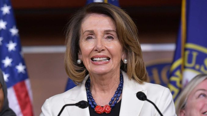 Trump: Nancy Pelosi Is in Bed with Human Traffickers