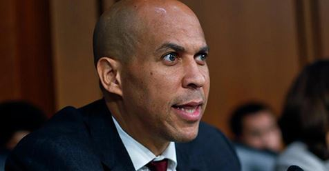 Cory Booker compares Green New Deal to going to the moon, defeating Nazis