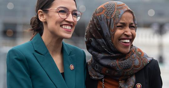 AOC sends fundraising email asking for money to defend Omar, Tlaib