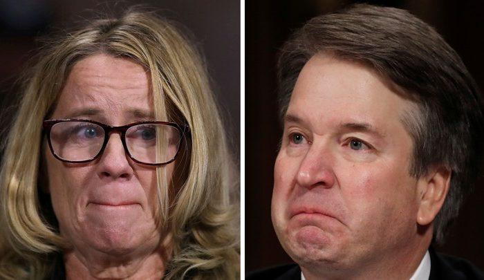 Trump team held back dirt on Kavanaugh accuser, new book says
