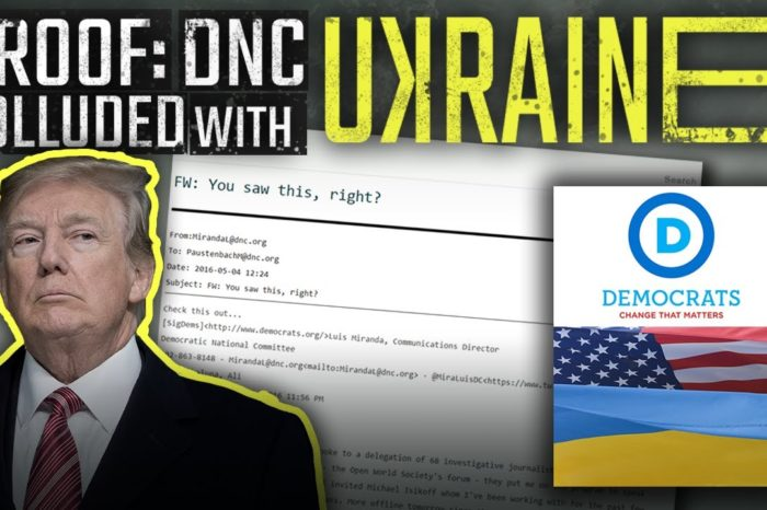BOMBSHELL: Audio, Email Evidence Shows DNC Colluded With Ukraine To Boost Hillary By Harming Trump