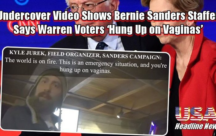Undercover Video Shows Bernie Sanders Staffer Says Warren Voters 'Hung Up on Vaginas'