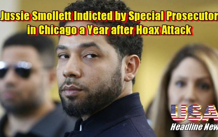 Jussie Smollett Indicted by Special Prosecutor in Chicago a Year after Hoax Attack