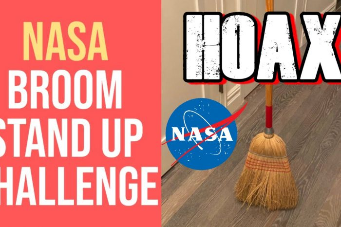 NASA Gravity 'Standing Broom' Hoax Takes Over Social Media Worldwide