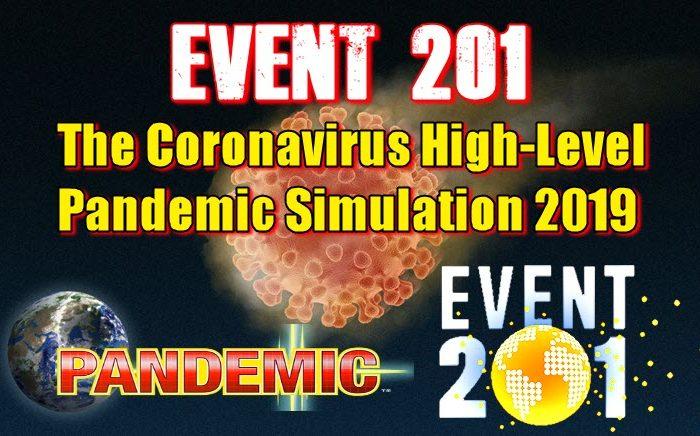 EVENT 201 The Coronavirus High-Level Pandemic Simulation 2019
