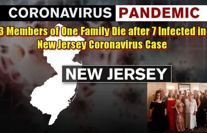 3 Members of One Family Die after 7 Infected in New Jersey Coronavirus Case