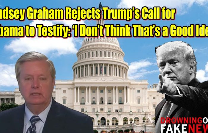 Lindsey Graham Rejects Trump's Call for Obama to Testify: 'I Don't Think That's a Good Idea'