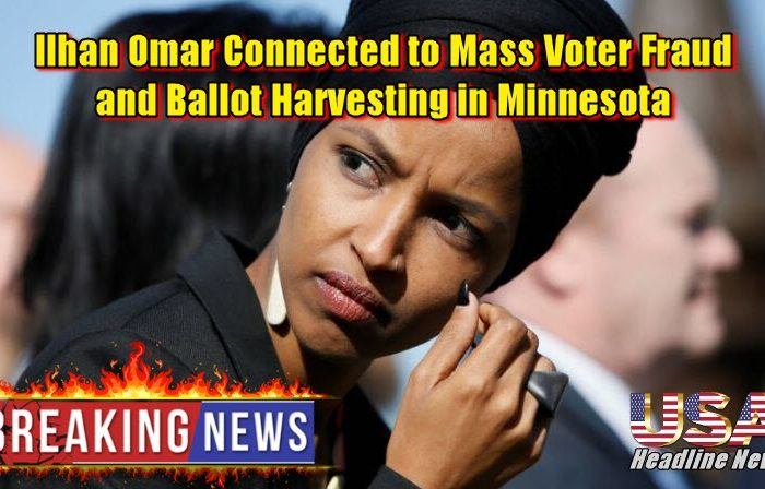 Ilhan Omar Connected to Mass Voter Fraud and Ballot Harvesting in Minnesota