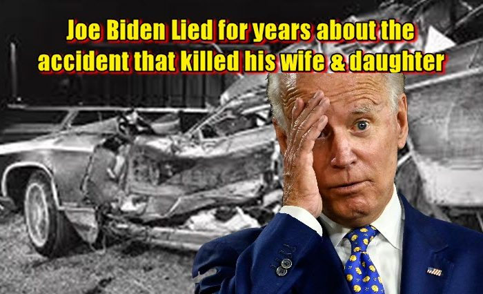 Joe Biden Lied for years about the accident that killed his wife & daughter