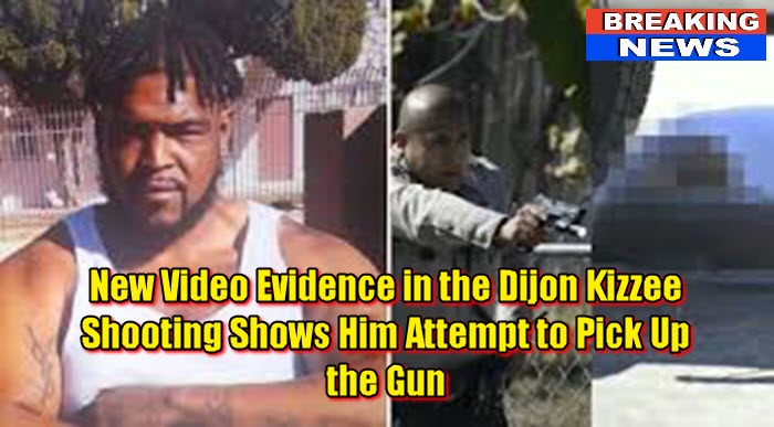 New Video Evidence in the Dijon Kizzee Shooting Shows Him Attempt to Pick Up the Gun